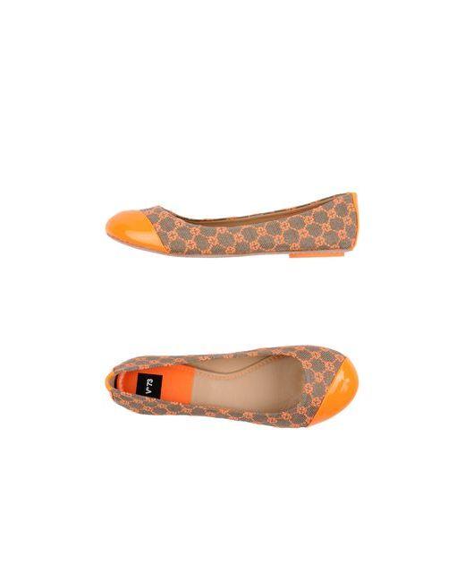 V°73 | Женские Оранжевые Балетки