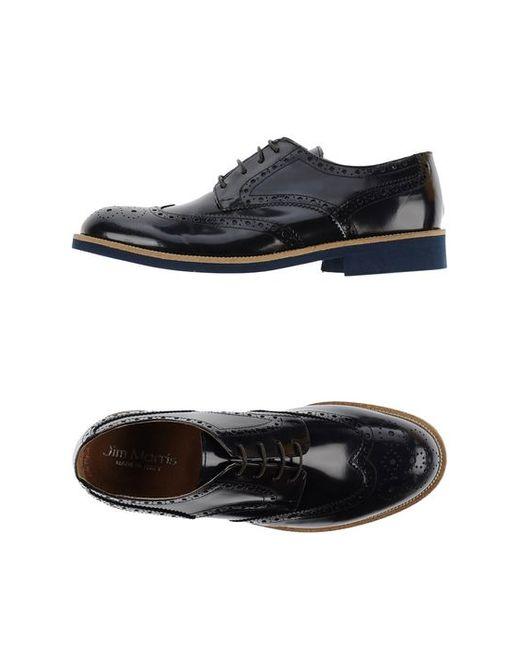 JIM MORRIS   Мужская Обувь На Шнурках
