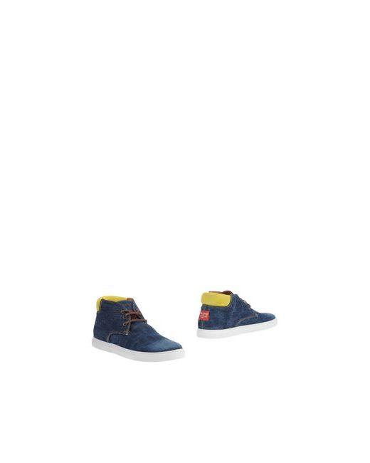 Dsquared2   Мужские Синие Полусапоги И Высокие Ботинки