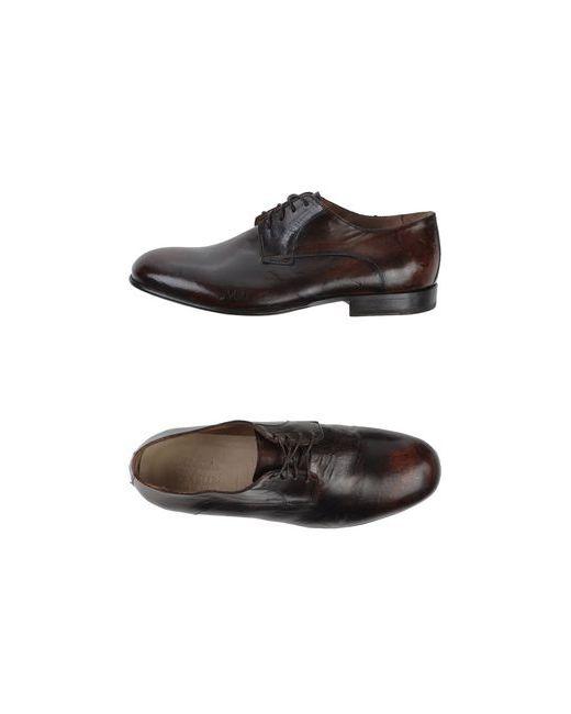 Alexander Hotto | Мужская Коричневая Обувь На Шнурках