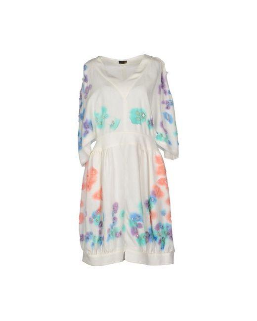 Fendi | Женское Белое Короткое Платье