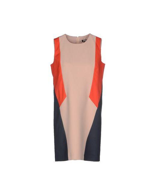 DKNY | Женское Бежевое Короткое Платье