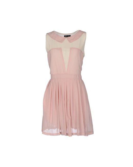 Cutie   Женское Розовое Короткое Платье