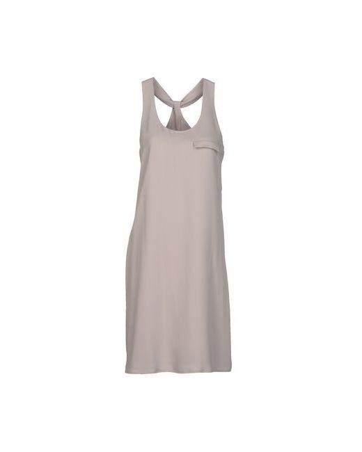 Hotel Particulier | Женское Серое Платье До Колена