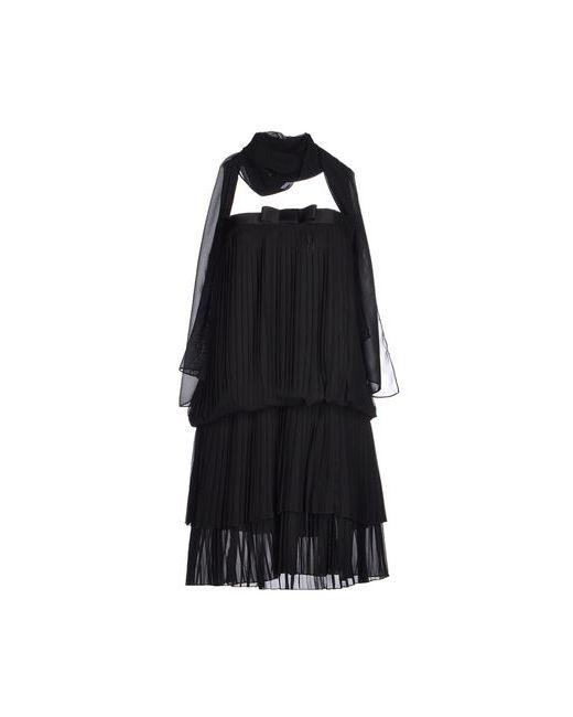 Luca Giordani | Женское Чёрное Короткое Платье
