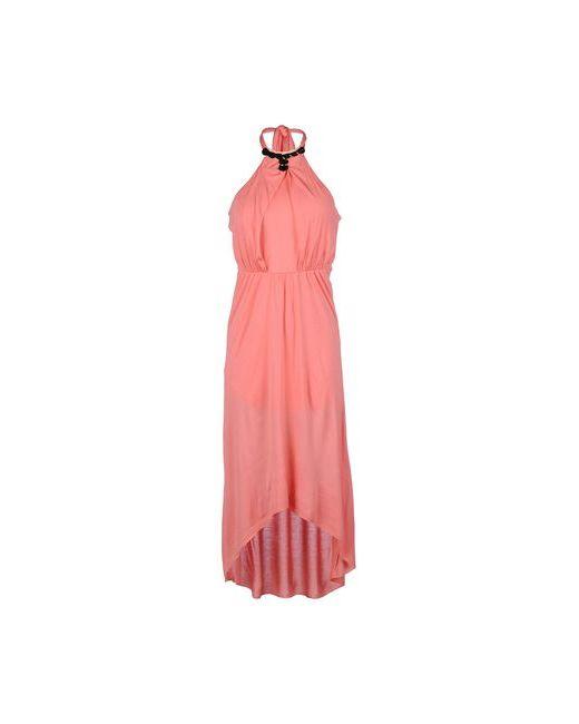 Kocca | Женское Розовое Платье До Колена