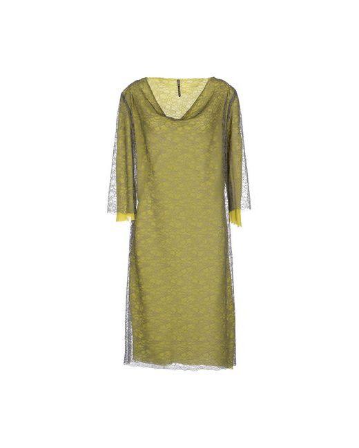 Liviana Conti | Женское Серое Платье До Колена