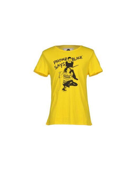 Phonz Says Black | Женская Жёлтая Футболка