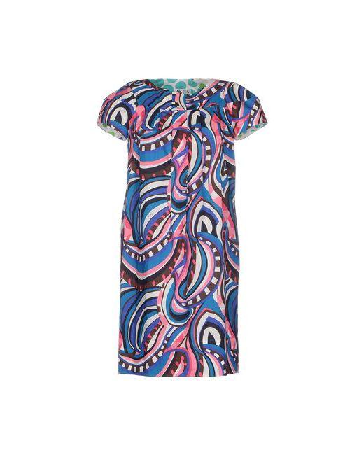 Bini Como | Женское Розовое Короткое Платье
