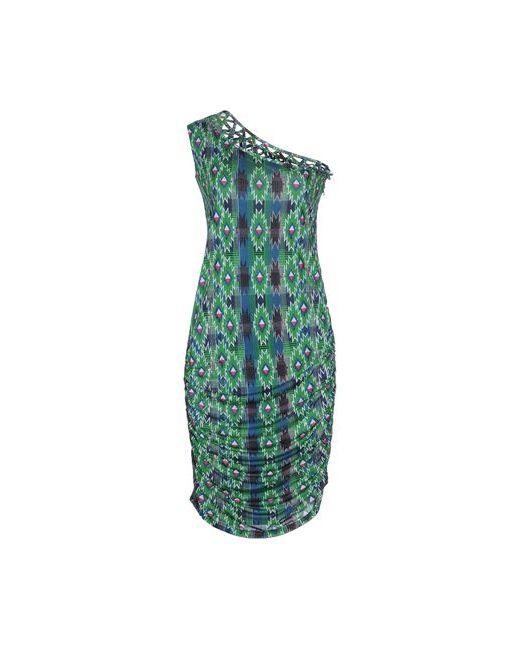 Pam & Arch | Женское Зелёное Платье До Колена