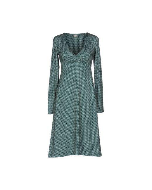 Siyu | Цвет Морской Волны Платье До Колена