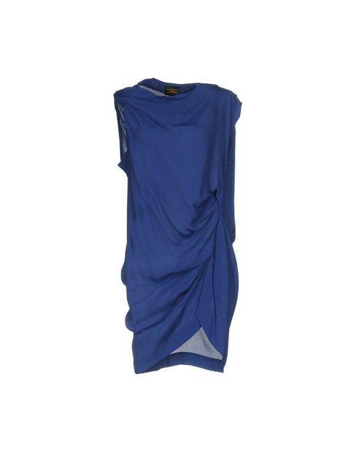 Vivienne Westwood Anglomania | Женское Синее Короткое Платье