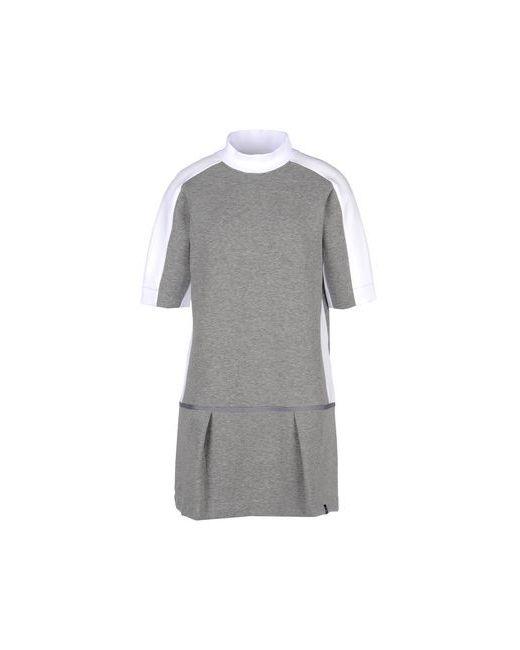 Nike | Женское Серое Короткое Платье