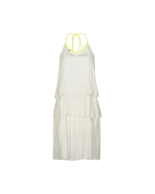Mariangela Mazzoli | Женское Белое Платье До Колена