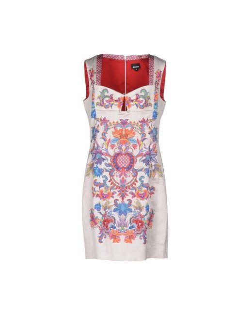 Just Cavalli | Женское Серое Короткое Платье