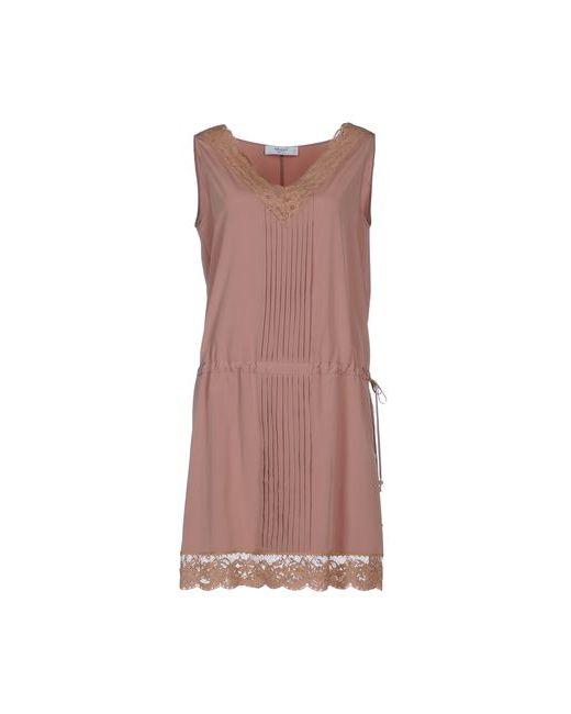 Blugirl Blumarine | Женское Коричневое Короткое Платье