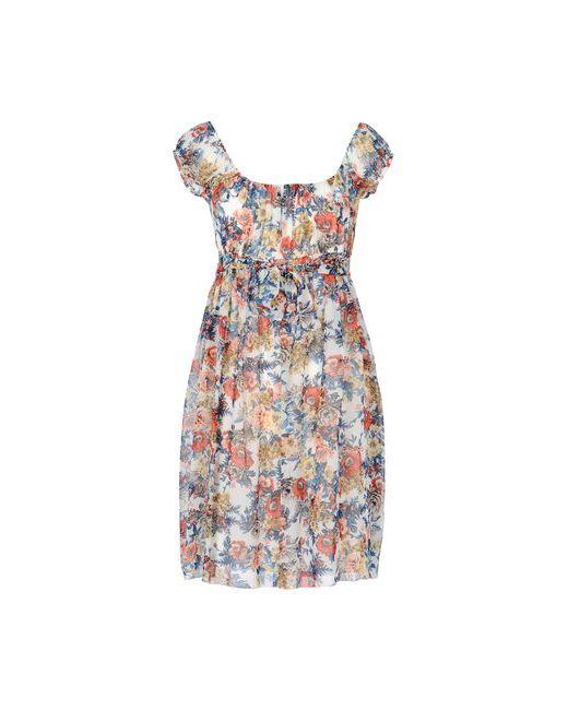 George J. Love | Женское Белое Короткое Платье