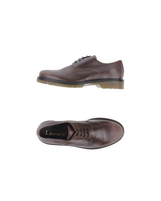 Lemaré   Мужская Коричневая Обувь На Шнурках