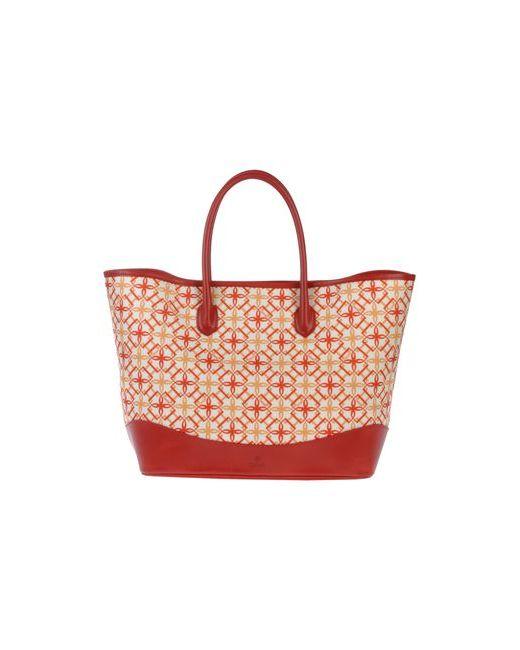 Desmo   Женская Красная Большая Сумка Из Текстиля