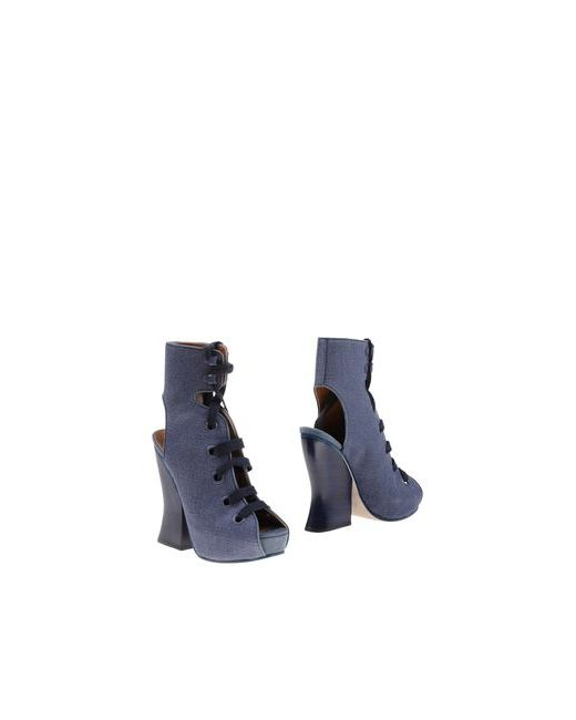 Acne | Женские Синие Полусапоги И Высокие Ботинки