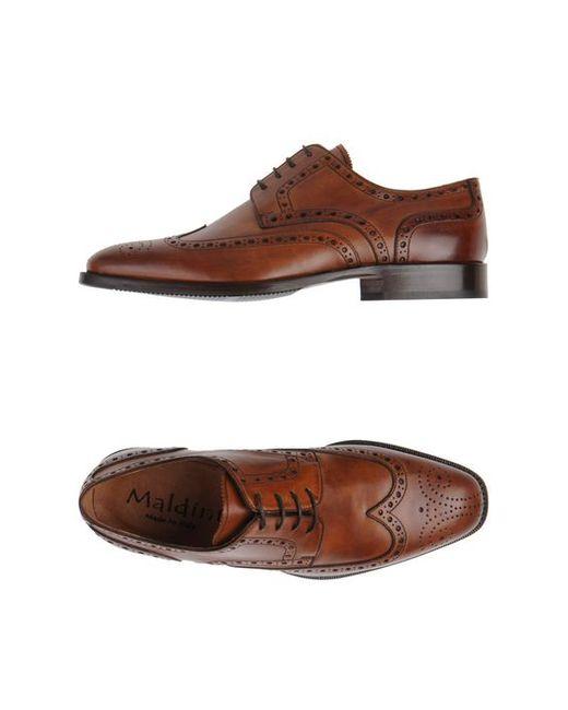 Maldini | Мужская Обувь На Шнурках