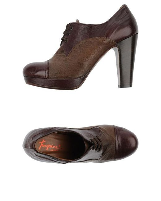 Tangerine   Женская Обувь На Шнурках