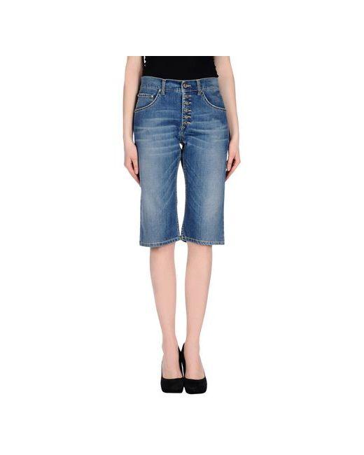 Up ★ Jeans | Женские Синие Джинсовые Бермуды