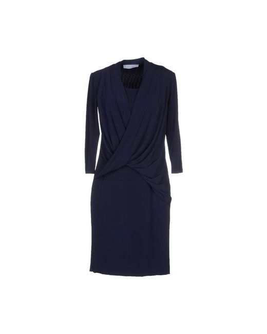 Kaos | Женское Синее Короткое Платье