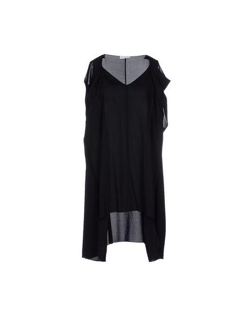 Vionnet | Женское Чёрное Короткое Платье