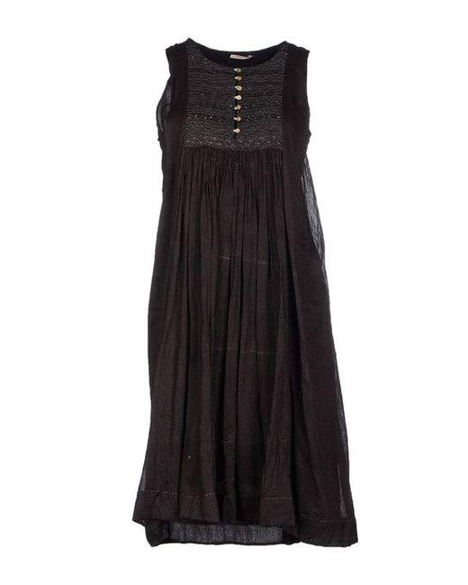 Péro   Женское Платье До Колена