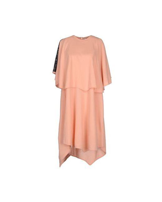 Francesco Scognamiglio   Женское Розовое Платье До Колена