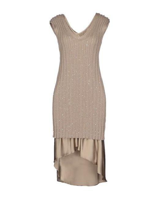 Brunello Cucinelli | Женское Короткое Платье