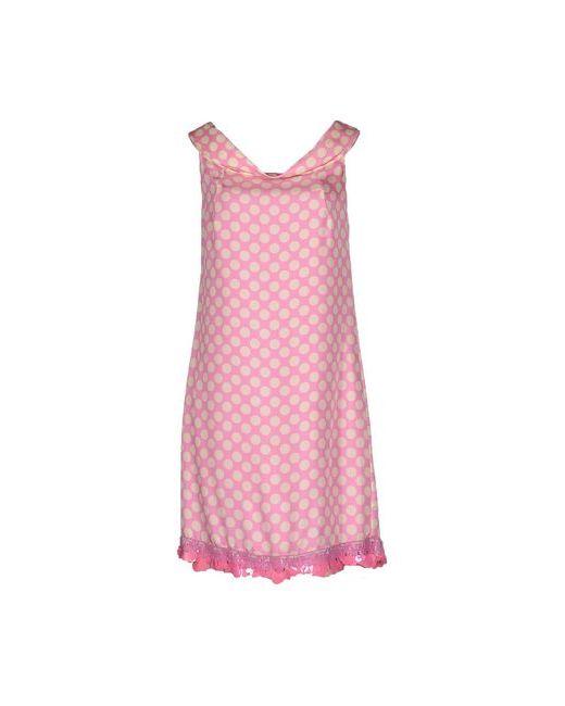 Blugirl Blumarine   Женское Розовое Короткое Платье