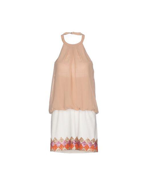Annarita N. | Женское Телесное Короткое Платье