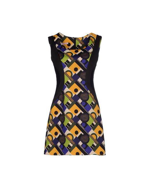 ERNESTO CHIARI | Женское Жёлтое Короткое Платье