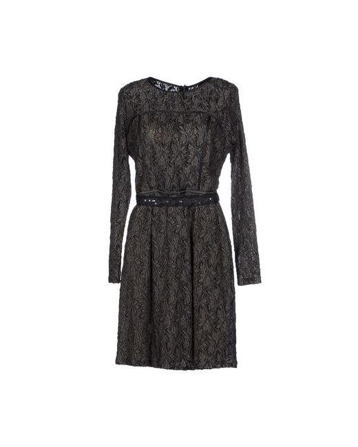 Sfizio | Женское Серое Короткое Платье