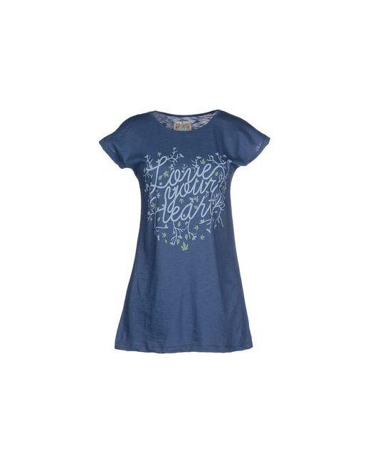 Mary Cotton Couture | Мужская Синяя Футболка
