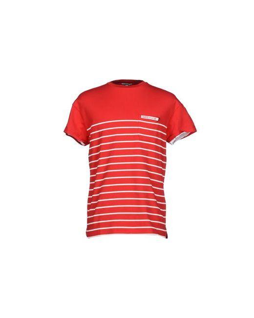Guess | Мужская Красная Футболка