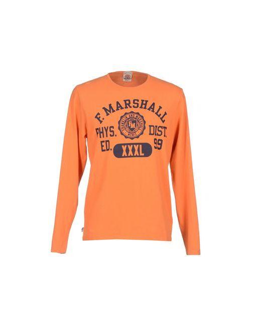 Franklin & Marshall   Мужская Оранжевая Футболка