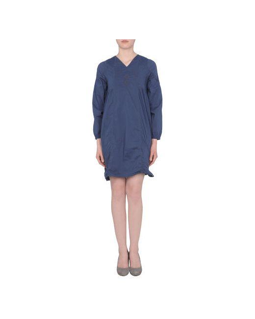 Local Apparel | Женское Синее Короткое Платье