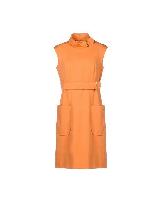 PAULINE TRIGERE | Женское Оранжевое Короткое Платье