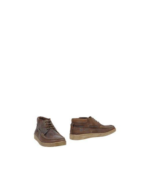 Sebago | Мужские Коричневые Полусапоги И Высокие Ботинки
