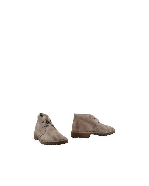 Le Crown | Мужские Серые Полусапоги И Высокие Ботинки