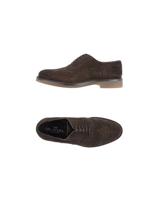 Giu.M.I.Da | Мужская Коричневая Обувь На Шнурках