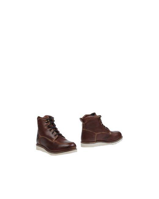 Gaudi' Shoes   Мужские Какао Полусапоги И Высокие Ботинки