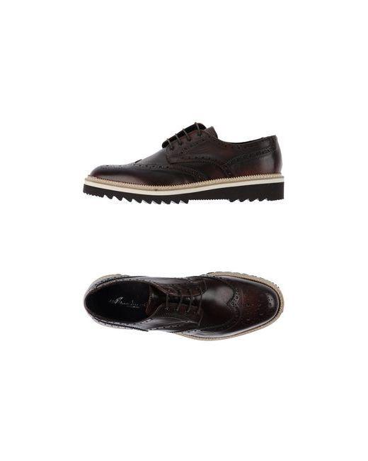 Marechiaro 1962 | Мужская Коричневая Обувь На Шнурках