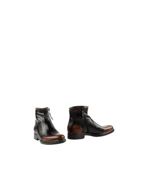 MJUS RBL | Мужские Чёрные Полусапоги И Высокие Ботинки