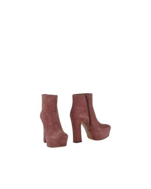 L' Autre Chose | Женские Розовые Полусапоги И Высокие Ботинки