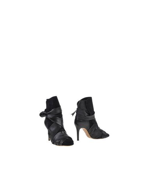 Isabel Marant | Женские Чёрные Полусапоги И Высокие Ботинки