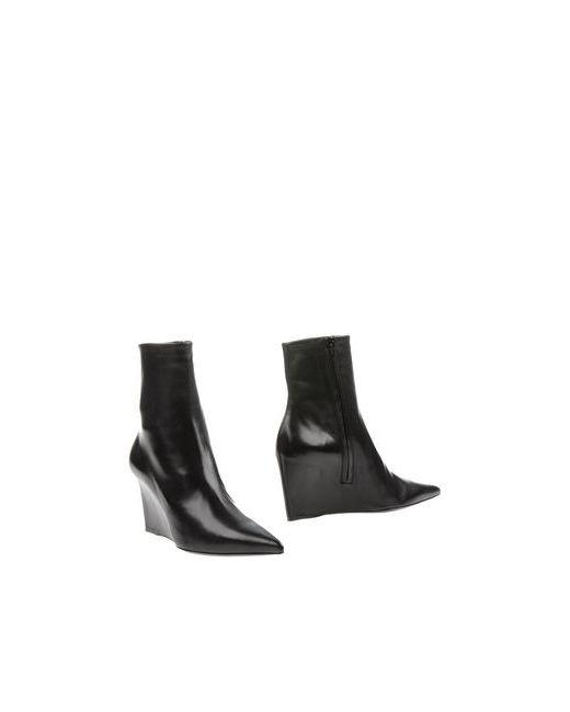 Balenciaga   Женские Чёрные Полусапоги И Высокие Ботинки